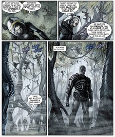 There are a lot of dangers in this jungle. #Prometheus #FireandStone #PrometheusFireandStone #LV223 #USCSSPrometheus #PaulTobin #JuanFerreyra #xenomorph #alien #horror #DarkHorseBooks #DarkHorseComics #Comics #PrometheusComics #spacejockey #facelesshorror