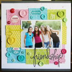 Love this! Love the Color blocks!!! LauraVegas_Friendship