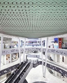 View full picture gallery of Shopping Center Milaneo Led Light Design, Lighting Design, Lighting Ideas, Shopping Center, Carl Stahl, Shopping Mall Interior, Mall Design, Interior Design Website, Interior Paint
