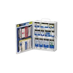 Medium First Aid Kit, 136 Pieces, OSHA Compliant, Metal Case $52