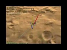 This animation shows NASA's Mars Reconnaissance Orbiter flying over NASA's Curiosity (shown in pink) as the rover lands on the Red Planet. The video is slowed down as the orbiter approaches the landing site for better viewing. Mars Reconnaissance Orbiter will capture data during Curiosity's entry, descent and landing for later playback to Earth. Its High Resolution Imaging Science Experiment (HiRISE) camera will attempt to take an image of Curiosity as it descends to the surface (green).