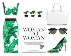 """орпи"" by explorer-14531127504 on Polyvore featuring мода, Dolce&Gabbana, Michael Kors, Ray-Ban и Nearly Natural"