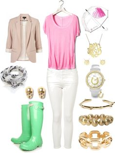 """Rainy Summer Day"" by hellocolie on Polyvore"