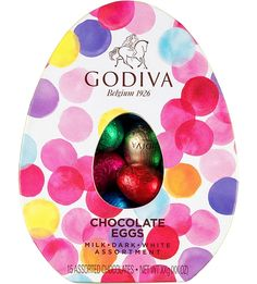 GODIVA Assorted chocolate mini Easter eggs