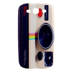Vintage Polaroid Camera Samsung Galaxy S III Hardshell Case Cover Samsung Galaxy S3 Case