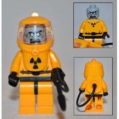LEGO ZOMBIE HAZMAT GUY- Custom Series 1 Minifigure