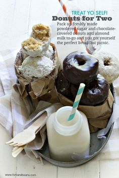 (via Gluten-Free Vegan Donuts | Fork and Beans)   #healthy #vegetarian #vegan #recipes Find more healthy recipes @ http://standouthealth.com