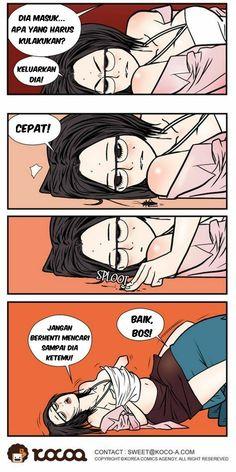 4 | Komik Dewasa Hot 18+ | Sial Dan Beruntung Gara -Gara Kecoa!