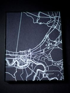 New Orleans no. 1 - drawing on glass
