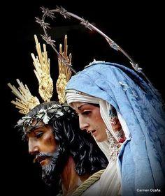 La pareja del Lunes Santo.