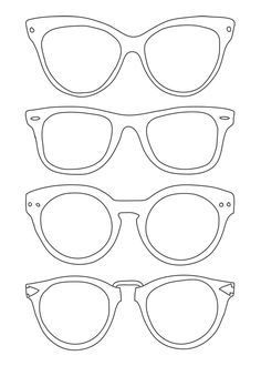 Sun Glasses Coloring Page Elegant Sunglasses Template Use for Back to School Night for Parents to Write Messages to their Kids Art For Kids, Crafts For Kids, Kids Class, Preschool Art, Art Club, Summer Crafts, Art Plastique, Teaching Art, Elementary Art