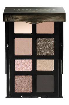 Must have: Bobbi Brown Smokey Nudes eyeshadow palette with just the right amount of sparkle.