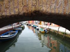 Canals of Burano. Photo by Cheryl Calentine