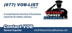 Veteran Owned Business Business Cards