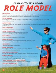 13 Ways To Be a Good Role Model | Values to Live By | www.FrankSonnenbergOnline.com