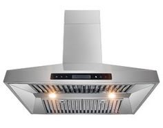 "AKDY AG-Z10A3 Euro Stainless Steel Wall Mount Range Hood, 30"" modern-kitchen-hoods-and-vents"