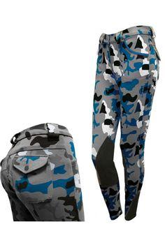 Tattini camouflage broek •Deze paardrijbroek heeft twee steekzakken aan de voorzijde. •De tattini camouflage broek heef twee kniestukken. •Paardrijbroeken van Tattini zijn van hoge kwaliteit.