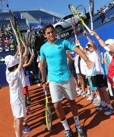 Nicolas Almagro with Tennis by Peugeot #Tennis #Peugeot #Ambassador #Almagro