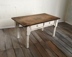 OOAK Shabby Chic Dollhouse Miniature Table Cottage Decor by SmallScaleLiving, $26.00