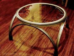 Beautiful Bike Table - For more great pics, follow bikeengines.com …
