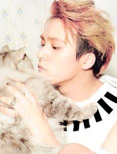 Idk..dongwoon...kitten..Dongwoo..kitten...dongkitten my godness