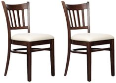 Beechwood Mountain Fully Assembled Colorado Kitchen and Dining Side Chairs in Walnut Finish, Set of 2 Beechwood Mountain http://www.amazon.com/dp/B00QMFEIMI/ref=cm_sw_r_pi_dp_yzTTub08RSCWP
