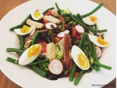 Deliciosa receta de ensalada Niçoise