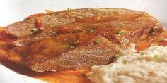 Plateada a la olla o Plateada al Jugo, una receta clásica de nuestra Cocina Chilena Chilean Recipes, Chilean Food, Carne Asada, I Love Food, Slow Cooker, Main Dishes, Food And Drink, Pork, Lunch