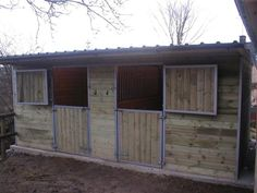 Horse Shelter Plans Free - #goatvet many would suit goats as well