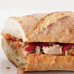 Tasty Tuna Bocadillos! Tasty and #easy! #tuna #sandwich #delicious