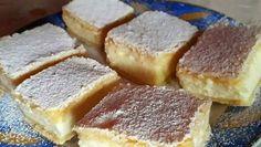 Levný recept na pudinkové řezy se zakysanou smetanou a jemnou chutí! | Vychytávkov