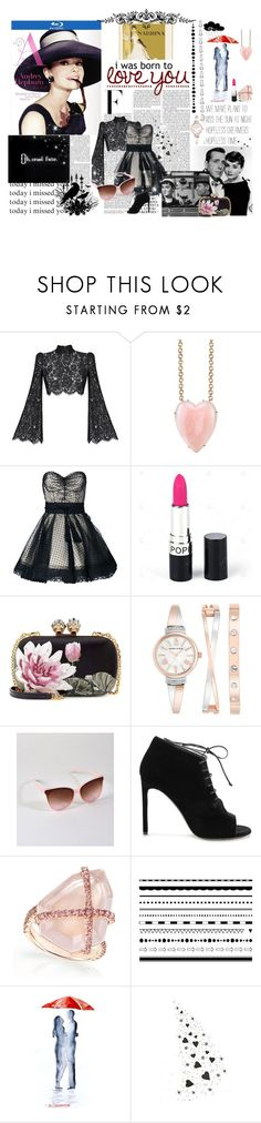 """Sabrina - Audrey Hepburn"" by cinpet ❤ liked on Polyvore featuring Nicki Minaj, Rasario, Irene Neuwirth, Marc Jacobs, Alexander McQueen, Anne Klein and Yves Saint Laurent"