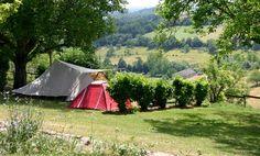 camping bleu soleil