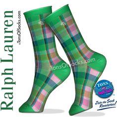 Ralph Lauren Dressy Plaid Socks. #polo #lauren #socks