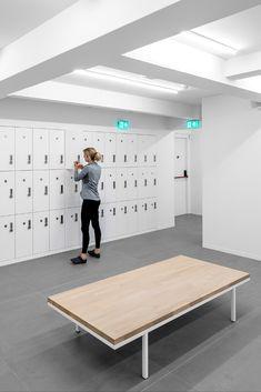 Storage Design, Lockers, Van, Buildings, Houses, Locker, Vans, Closet, Cabinets
