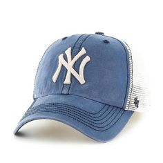 57386f95a75c8 New York Yankees NY Relaxed Fit Hat  47 Brand Stretch Hat. The cap features