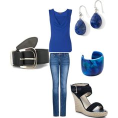 Blue, created by sadie2308.polyvore.com