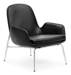 Normann Copenhagen Era Lounge Chair Low loungestoel met stalen onderstel heeft een gestroomlijnd #design en is van zeer hoge kwaliteit. Era is een duurzame, veelzijdige #loungestoel die je gemakkelijk in alle #interieurs opneemt.