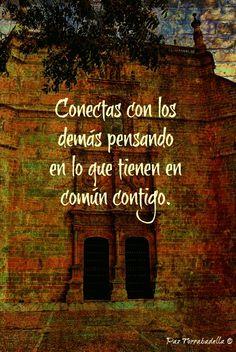 En verdad y en el fondo, no somos tan distintos.  http://blogdepaztorrabadella.blogspot.com.es