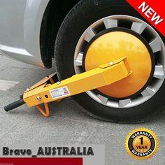 Heavy Duty Car Vehicle Wheel Clamp Lock for Cars Trailers Caravans & light truck
