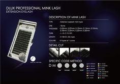 Velmi kvalitní řasy značky Dlux Profesional... Řada Premium Silk cena od 259,-