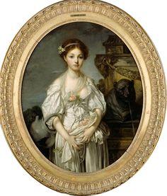 greuze, la cruche casée, 1771