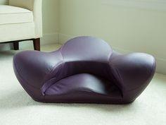 Alexia: Ergonomic Meditation Seat - Leather