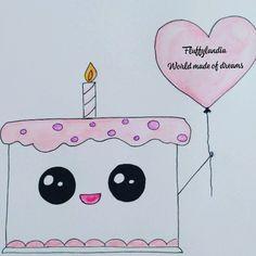 Sweet Birthday Cake, Cute Birthday Cakes