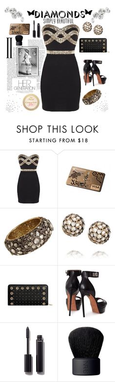"""""""Black tie event"""" by carleen1978 ❤ liked on Polyvore featuring MUNNU The Gem Palace, Ileana Makri, Givenchy, Chanel and NARS Cosmetics"""