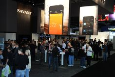 Opening day of CEDIA EXPO 2014 and the Savant Booth was packed!
