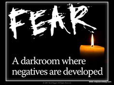 Inspirational Fear Quote Another quite nice little pin I think.