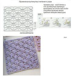 interesting stitch - crochet - with diagram