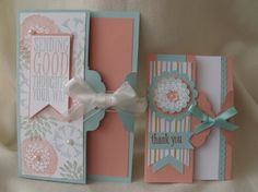Scalloped Tag Topper Punch Cards