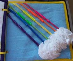 Beaded rainbow page